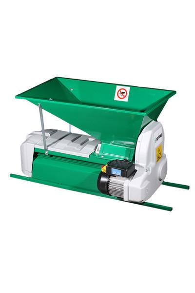 Muljača elektromotorna za grožđe sa funkcijom odvajanja peteljki 900x500mm GRIFO
