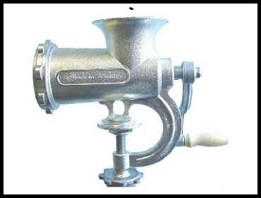 Ručna mašina za mlevenje mesa 22 - sa stopicom