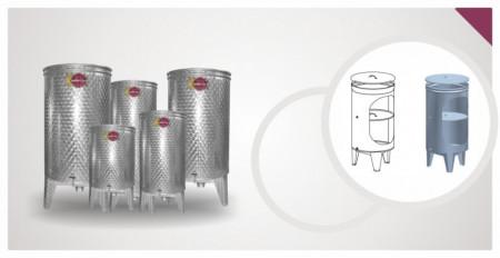 Bure za rakiju EZIO INOX - 750L