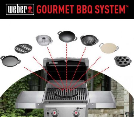 Gourmet BBQ sistem - dodatak za pile i povrće Weber