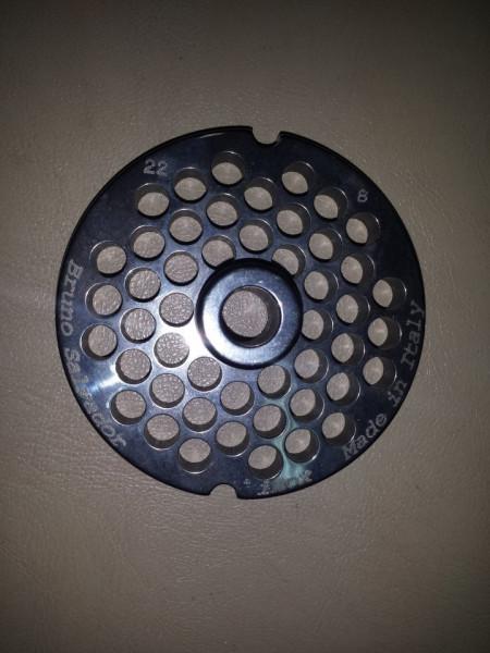 Rešetka INOX za mašinu za mlevenje mesa 22/6 mm
