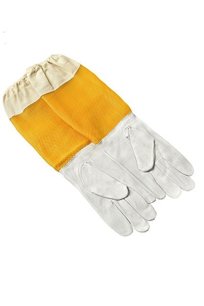 Kožne pčelarske rukavice sa ventilacijom XXL