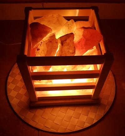 Lampa sa himalajskim grumenjem VATRENA KORPA 5kg