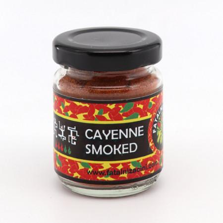 Mlevena dimljena paprika Cayenne smoked 30g FATALNI ZAČINI