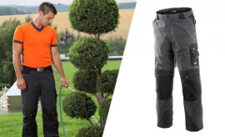 Radne pantalone Sirius sivo-zelene