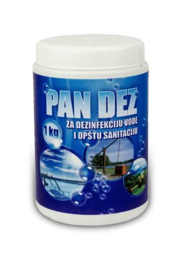 Hlorne granule - PAN DEZ 1kg