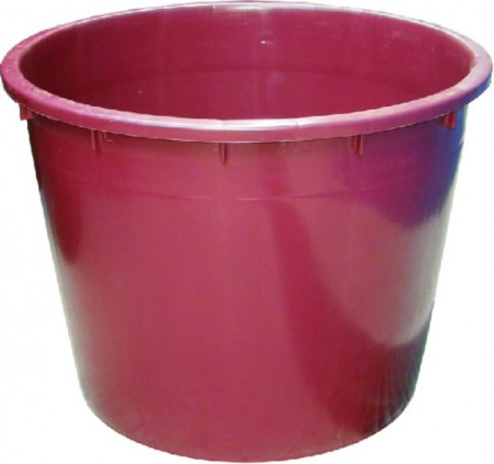 Slika Kaca plastična 230L - crvena