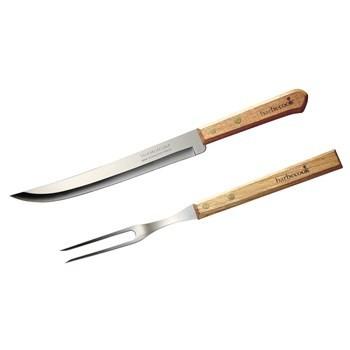 Set za roštilj 2/1 viljuška i nož Barbecook