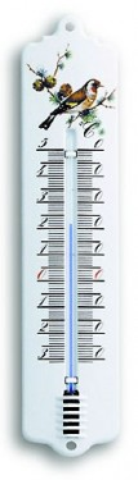 Analogni termometar spoljni/unutrašnji  sa ptičijim motivom TFA 12.2010.20