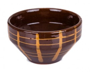 Slika Činija 15cm, Kupa Braon dizajn