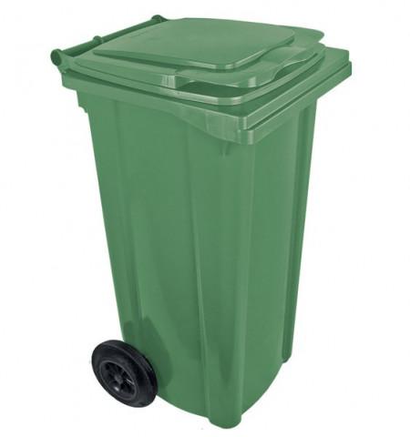 Kanta za smeće sa točkovima 240L zelena