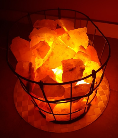 Lampa sa himalajskim grumenjem VATRENA KORPA 15kg