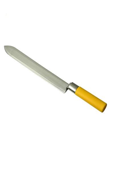 Nož za otvaranje saća 28.5cm, nazubljeno sečivo Inox