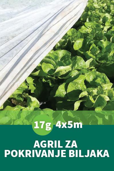 Folija za zaštitu biljaka Agril 17gr 4x5m Dolomite