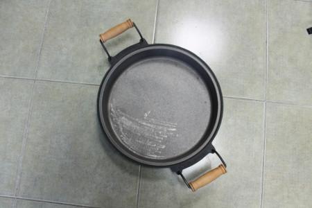 Slika Gusana tepsija za sač 40cm sa ručkama