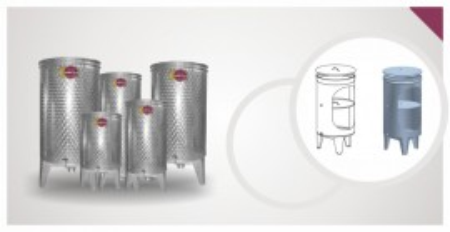 Bure za vino EZIO INOX -75L