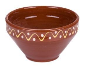 Činija Kupa 22 cm Braon dizajn