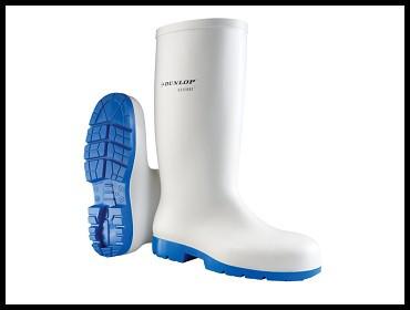 Čizme mesarske bele Dunlop Acifort