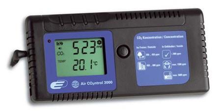 "Kontrolni merač CO2 ""AIRCO2NTROL 300"" sa alarmom i memorijom"