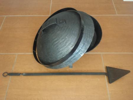 Kovani sač 60cm za meso