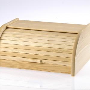 Kutija za hleb drvena - Domy 400x265x165mm