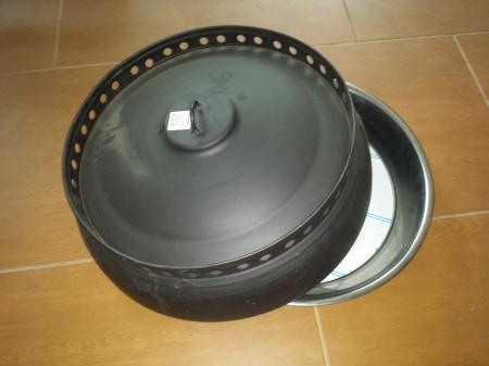 Posuda sača Inox duplo dno 48cm