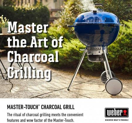 Roštilj na ugalj Weber Master Touch 57 - Limited Edition OCEAN BLUE