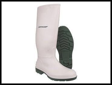 Čizme mesarske bele Dunlop Pricemastor