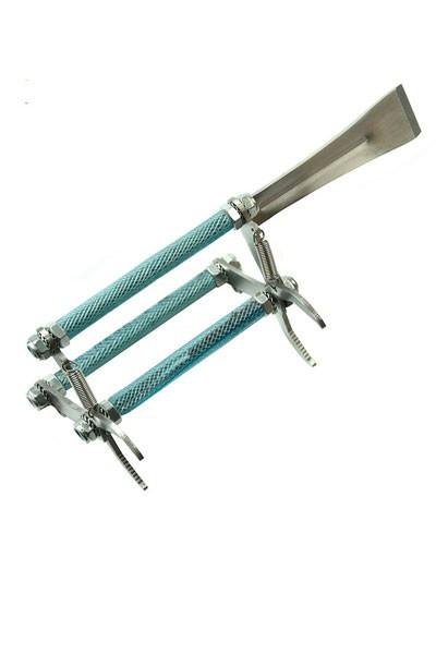 Inox klešta za vađenje ramova sa nožem