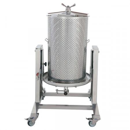Vodena Inox presa za grožđe 100L Zottel