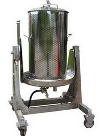 Vodena Inox presa za grožđe 120L VSPIX