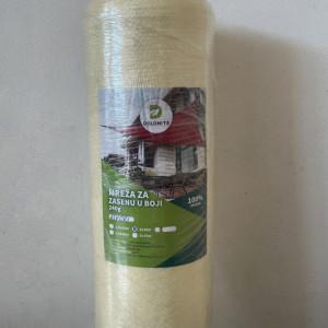 Mreža za zasenu 2x10m 100% - Ivory (vanila)