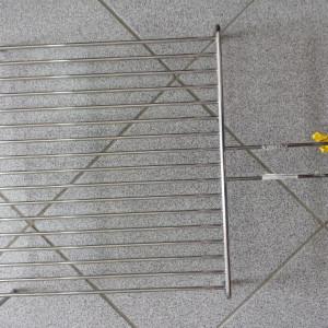 Roštilj žica sa nogicama 49x40 cm INOX