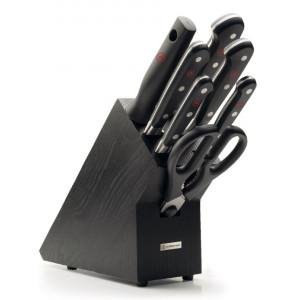 Set 7 noževa i drveni stalak WÜSTHOF CLASSIC - tamni jasen