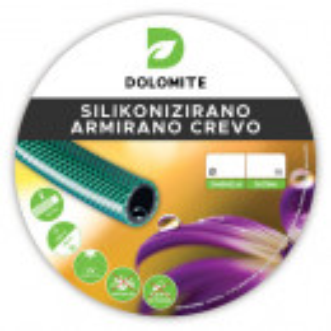 "Armirano silikonizirano pvc crevo 1"" 50M - Dolomite"