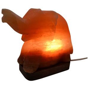 Lampa od himalajske soli - kristalna lampa Slon