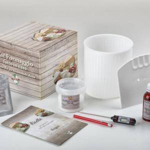 Set za pravljenje mocarela sira sa digitalnim termometrom Enolandia
