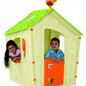 Kućica za decu Magic Playhouse Keter - Bež/Zelena