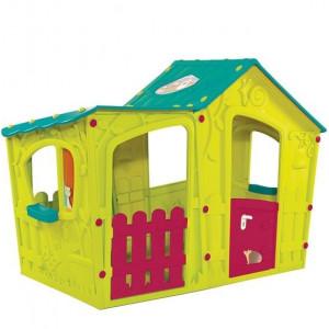 Kućica za decu Magic Villa House - Zeleno/Tirkizna