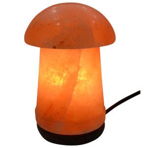 Lampa od himalajske soli - kristalna lampa Pečurka