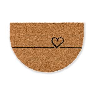 Otirač Coco Design Heart 40x60cm - polukružni