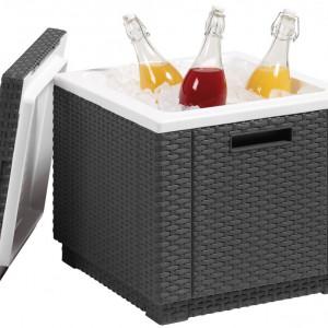 Tabure frigo Ice cube - Grafit/Siva
