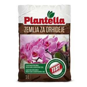 Zemlja za Orhideje 3L Plantella