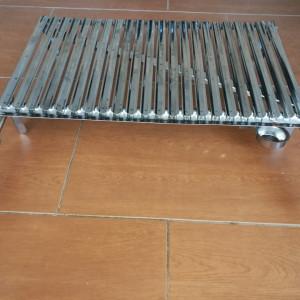 Roštilj ploča sa nogama i ručkama 70x40 Inox