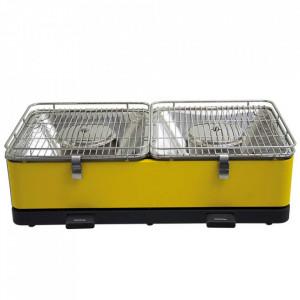Stoni roštilj na ćumur SANTORIN Feuerdesign žuti