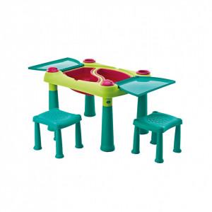 Kreativni dečiji sto za igru sa stolicama - CREATIVE PLAY