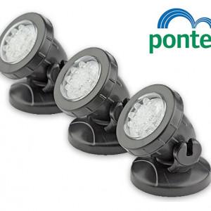 Led reflektori PONTEC Set 3/1 za jezera i fontane