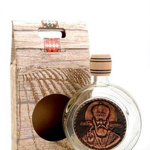 Čutura staklena sa motivom 0,75l - Sveti Nikola