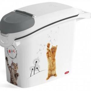 Kutija za odlaganje hrane za kućne ljubimce 15L - MAČKA