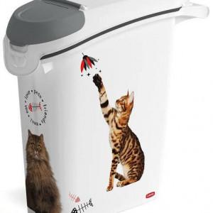 Kutija za odlaganje hrane za kućne ljubimce 23L - MAČKA